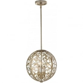 ARABESQUE globe ceiling pendant light