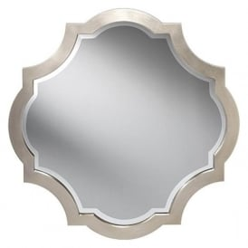 ARGENTUM decorative octagonal wall mirror