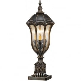BATON ROUGE traditional exterior pedestal or post light