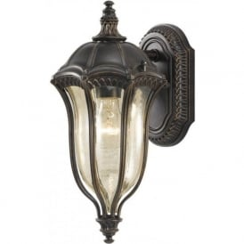 BATON ROUGE traditional garden wall lantern, small