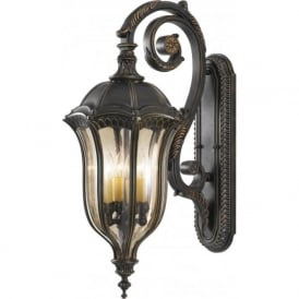 BATON ROUGE traditional outdoor wall lantern, large