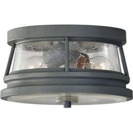 CHELSEA HARBOR flush fitting exterior porch ceiling light
