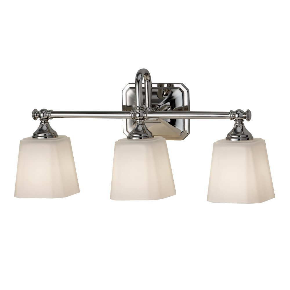 Colonial bathroom wall light bar for lighting over - Traditional bathroom mirror with lights ...
