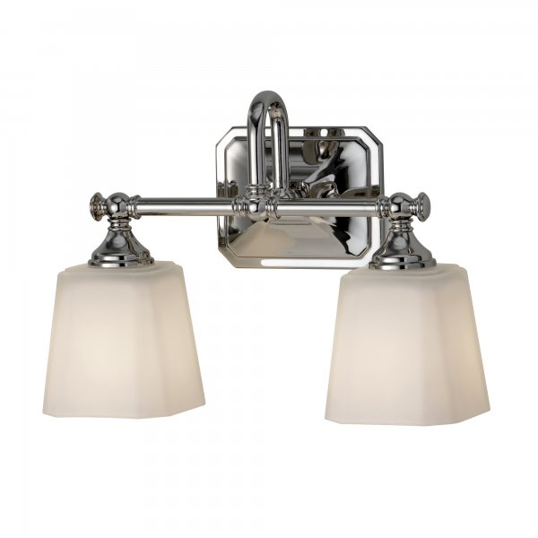 Colonial style double bathroom wall light for lighting for Traditional bathroom wall lights