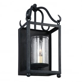 DECLARATION traditional forged wrought iron wall light