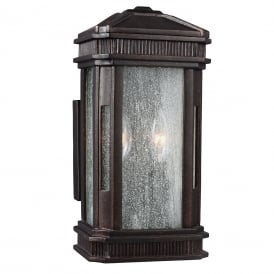 FEDERAL Regency style IP44 outdoor wall lantern for harsh weather locations