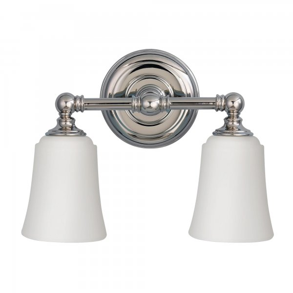 Ip44 period style twin bathroom wall light chrome with for Traditional bathroom wall lights