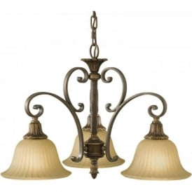 KELHAM HALL traditional bronze ceiling light fitting