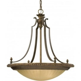 KELHAM HALL traditional upligher ceiling pendant on chain