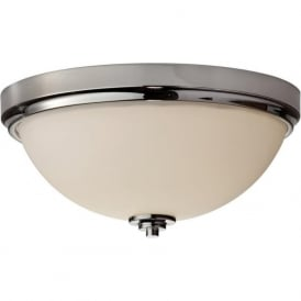 MALIBU flush mounted circular bathroom ceiling light, IP44