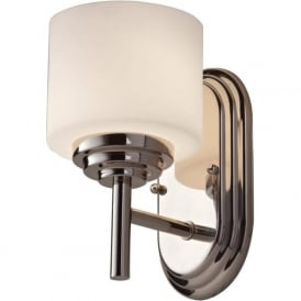 MALIBU IP44 upward facing bathroom wall light