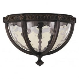 REGENT COURT traditional flush fitting porch ceiling light