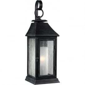 SHEPHERD Parisian style replica gas lantern outdoor wall light - small