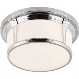 WOODWARD IP44 flush mounted bathroom ceiling light - large