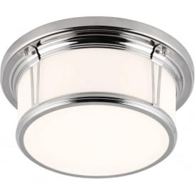 WOODWARD IP44 flush mounted bathroom ceiling light - medium