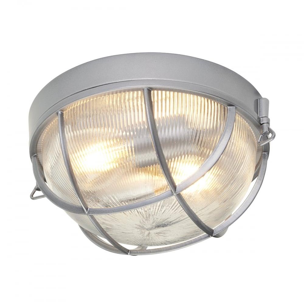 online retailer e261e 2e816 MARINA nautical style exterior flush mounted aluminium ceiling or wall light