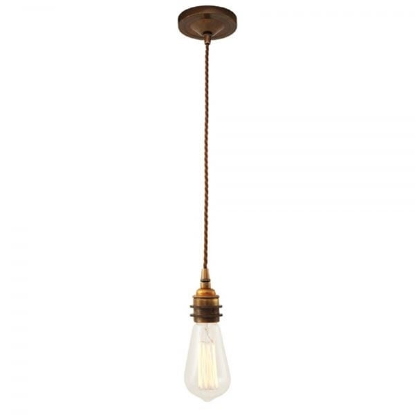 Industrial Hanging Ceiling Pendant Use With Bare Edison