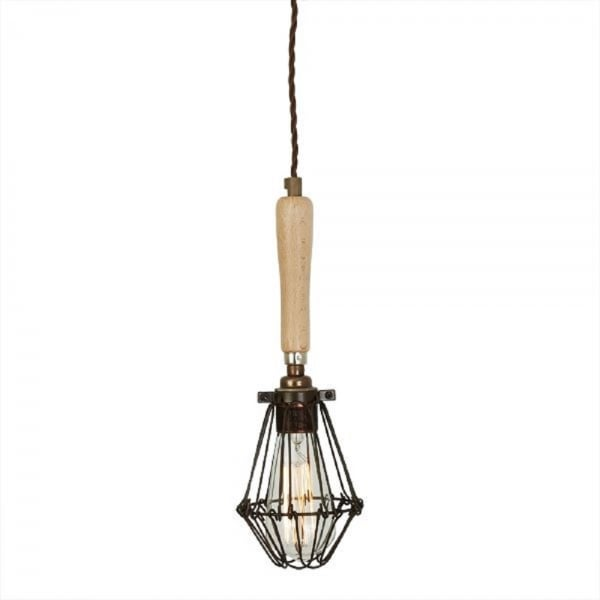 Vintage Industrial Style Hanging Ceiling Pendant Light On
