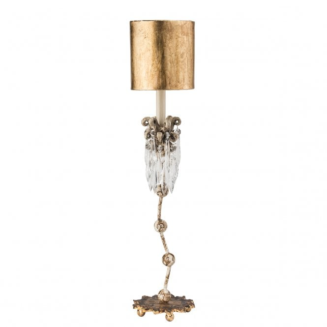 New orleans lighting venetian elegant gold and beige shabby chic venetian elegant gold and beige shabby chic table lamp with crystal cluster aloadofball Gallery