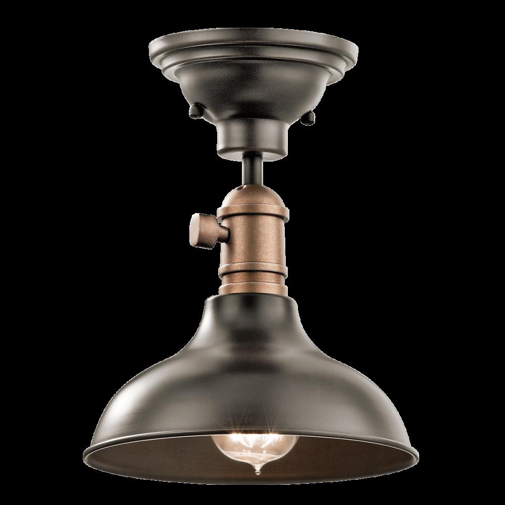 Versatile 3 In 1 Light. Use As Pendant, Flush Light Or