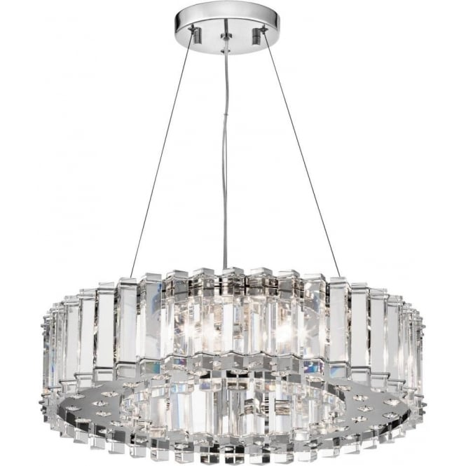 Crystal Chandelier Safe For Bathroom Use In Zone 1 And 2