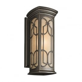 Garden lighting sensor lights and porch lights in traditional styles franceasi outdoor garden wall lantern with gothic detailing large aloadofball