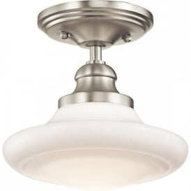 KELLER school house dual mount ceiling light, pendant or semi-flush fitting