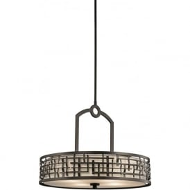 LOOM Art Deco hanging ceiling pendant light