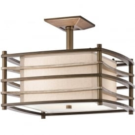 MOXIE Deco style low ceiling light fitting