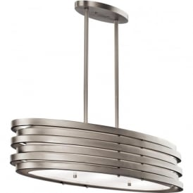 ROSWELL over table or kitchen island bar pendant ceiling light