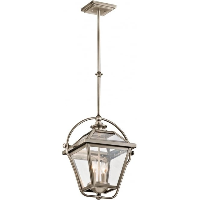 Traditional Victorian Hanging Ceiling Lantern In Antique