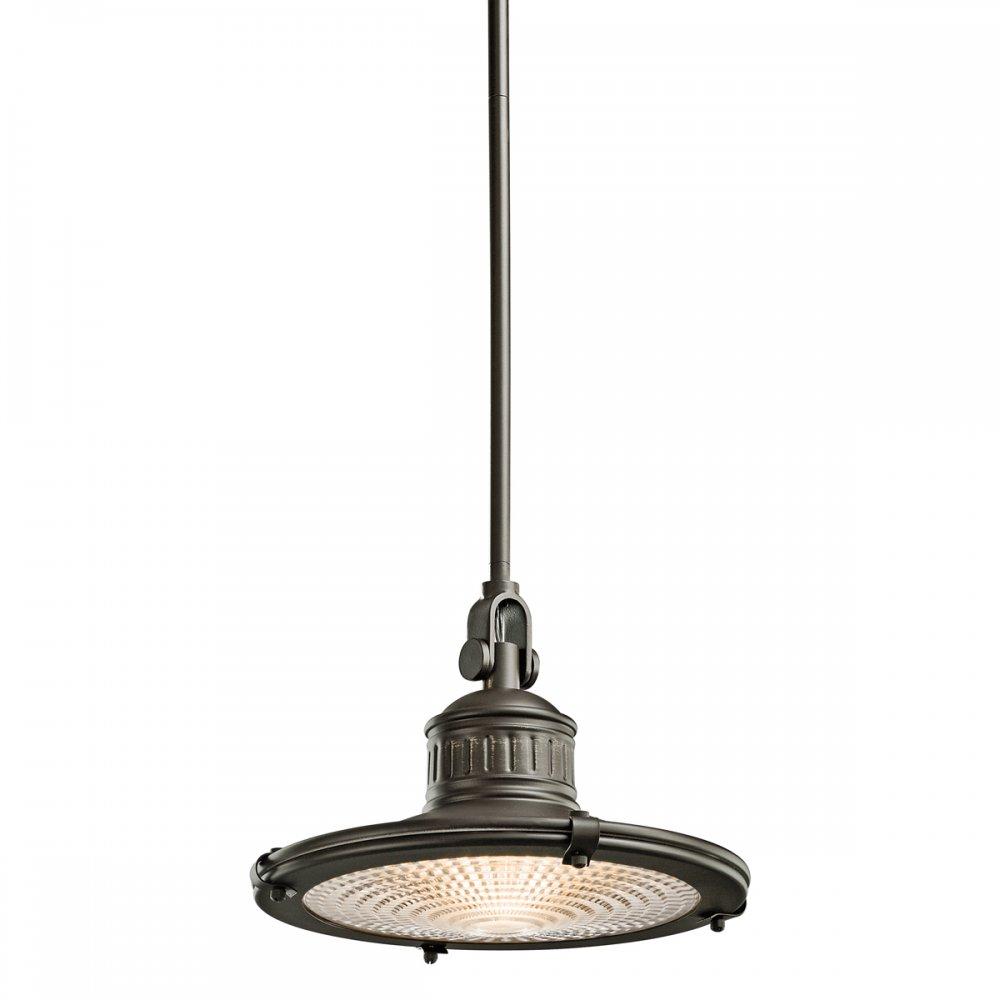 Dark Bronze Nautical Style Ceiling Pendant Light with