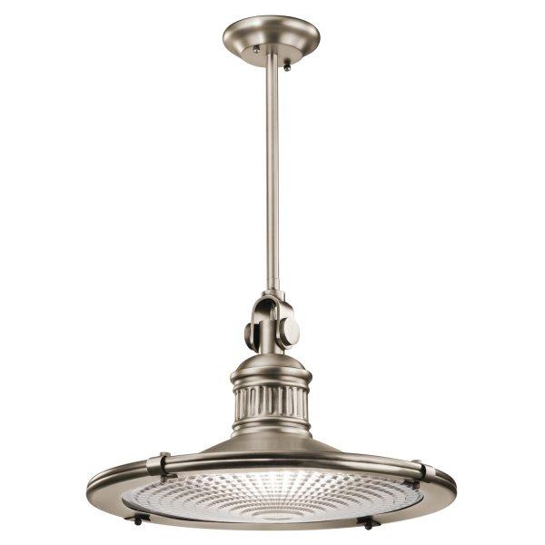 Nautical Decor Pendant Lighting: Antique Pewter Nautical Ceiling Pendant, Extra Large Style