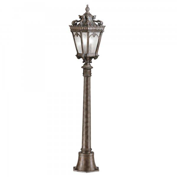 Victorian Gothic Small Garden Lamp Post Or Pillar Light