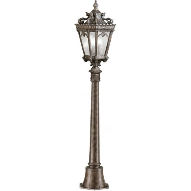 TOURNAI Traditional Victorian Gothic Half Size Garden Lamp Post   Medium