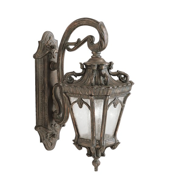 Victorian Gothic Large Outdoor Wall Lantern For Period Homes