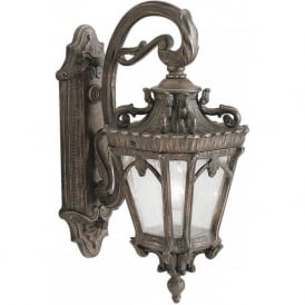 TOURNAI traditional Victorian Gothic style garden wall lantern - medium