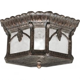 TOURNAI traditional Victorian style flush fitting porch ceiling light