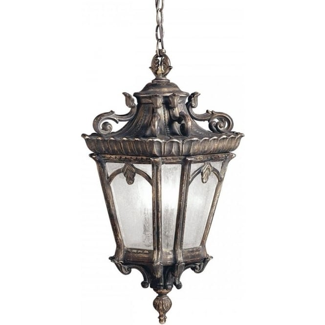 Very Large Ip44 Hanging Front Door Lantern In Victorian
