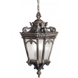 TOURNAI Victorian Gothic style hanging porch light - extra large