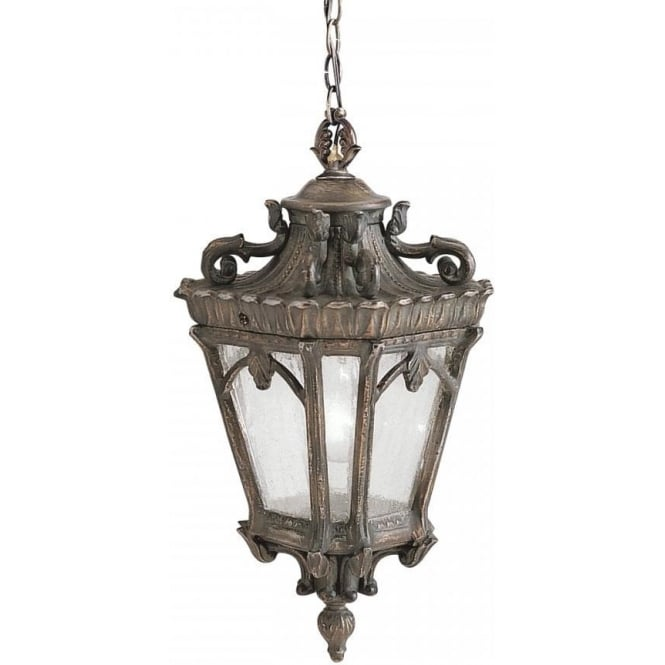 TOURNAI Victorian Gothic style hanging porch light - medium  sc 1 st  Bespoke Lights & Hanging Front Door Light in Ornate Bronze Gothic Style Cast Aluminium