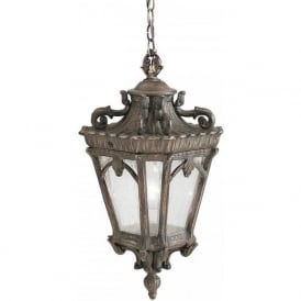TOURNAI Victorian Gothic style hanging porch light - medium