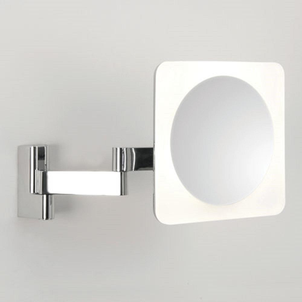 Bathroom Vanity Mirror With Led Light Adjustable 5 X Magnification