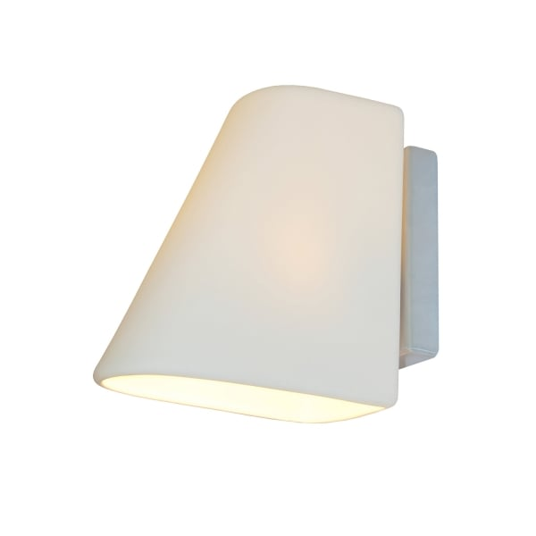 Led Wall Lights Online India: White Bone China Wall Lght Inspired By Indian Railway Wall