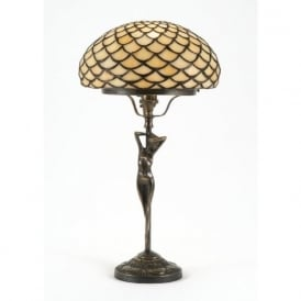 ELIZABETTA Art Nouveau Tiffany table lamp