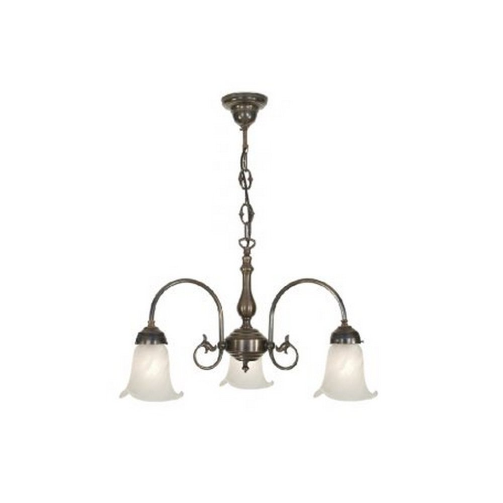 Hotel Collection Alabaster: Victorian Ceiling Light Fitting With White Alabaster Glass