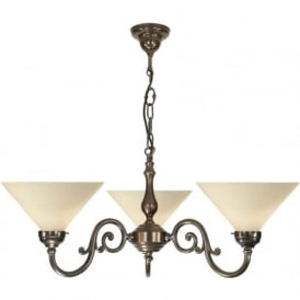 GRANDE traditional Victorian or Edwardian ceiling light