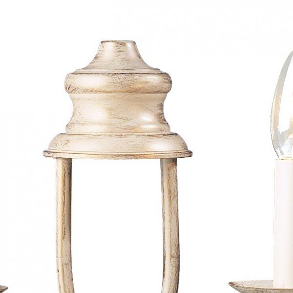 Cream Candle Wall Lights : Cream Wall Light Twin BERMUDA Distressed Cream Made in UK