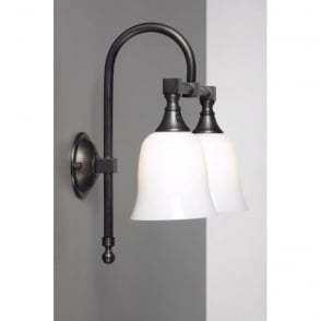bathroom wall lights traditional bath classic traditional ip44 aged brass 17126