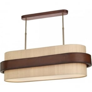 island bar suspension pendant ceiling light art deco with bronze bars. Black Bedroom Furniture Sets. Home Design Ideas